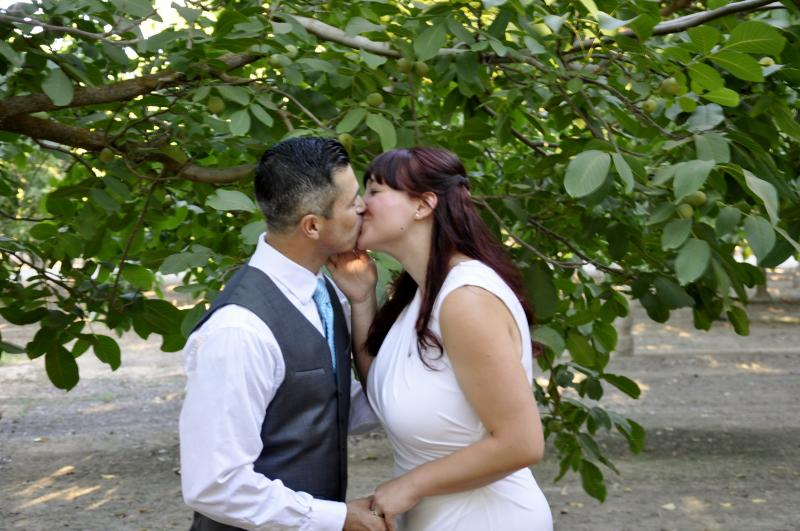 Quick And Simple Civil Wedding Service Spring Time Our Own Walnut Grove